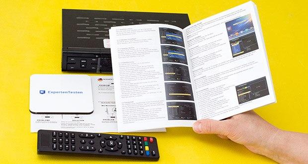 Echosat 20700 S Digitaler HD Satelliten Receiver im Test - ausführliche Anleitung