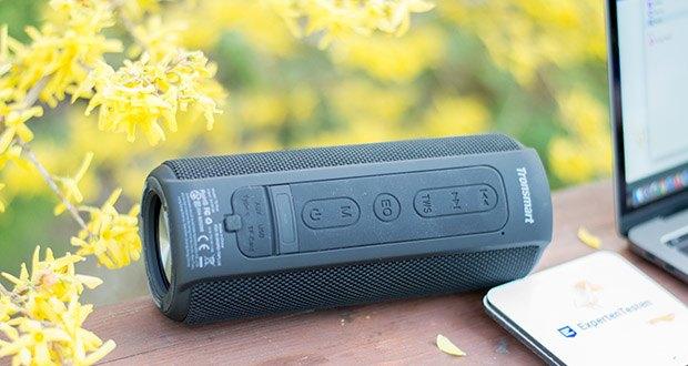 Tronsmart T6 Plus Bluetooth Lautsprecher im Test - unterstützt jedes Bluetooth-Gerät, Smartphone, PC, iPad usw.