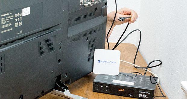 Echosat 20700 S Digitaler HD Satelliten Receiver im Test - leichte Installation und Aufbau