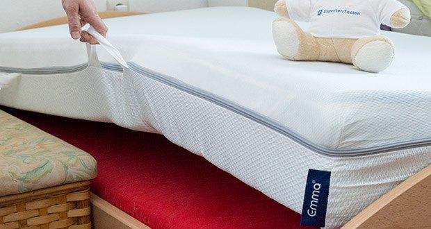 Emma One Matratze 90x200cm im Test - egal ob Sommer oder Winter - Emma One sorgt so immer für eine Wohlfühl-Schlaftemperatur