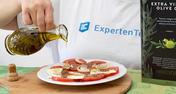 Happy Belly Select Natives Olivenöl extra im Test - direkt aus Oliven ausschließlich mit mechanischen Verfahren gewonnen