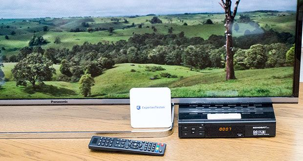 Echosat 20700 S Digitaler HD Satelliten Receiver im Test - können Sie Filme, Serien und Sportereignisse in Full HD 1080P mit hoher Bildqualität ansehen