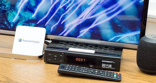 Echosat 20700 S Digitaler HD Satelliten Receiver im Test - mit der kinderleichten Menüführung können Sie problemlos Sender und Kanäle suchen, löschen und verschieben