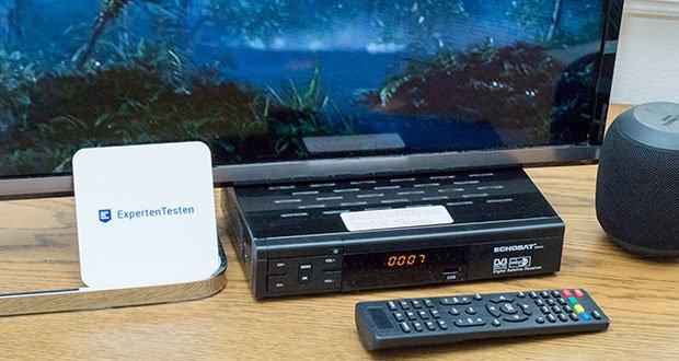 Echosat 20700 S Digitaler HD Satelliten Receiver im Test - hat ein hohes Maß an Auflösung und verfügt gleichzeitig über mehrere Funktionen