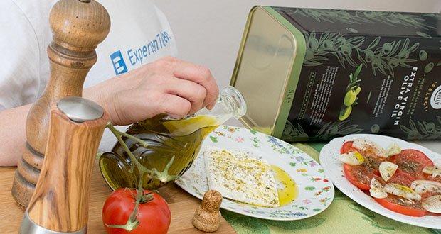 Happy Belly Select Natives Olivenöl extra im Test - für eine vegetarische und vegane Ernährung geeignet