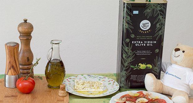 Happy Belly Select Natives Olivenöl extra im Test - ausgewogen