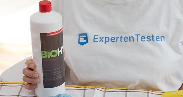 BIOHY WC-Reiniger im Test - ideal für die effektive Reinigung des gesamten WC- und Sanitärbereichs