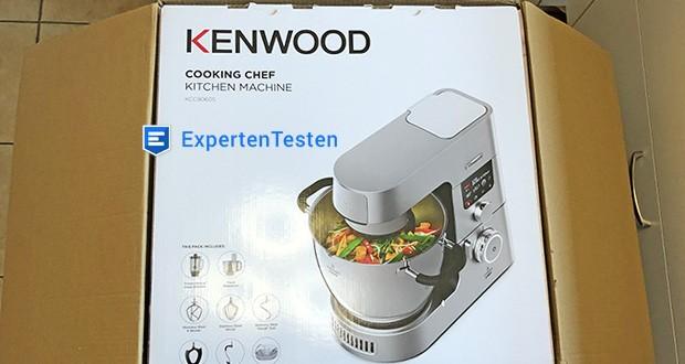 Kenwood Cooking Chef Gourmet KCC9060S Küchenmaschine im Test - Maße: 40 x 34,5 x 37 cm, Gewicht: 18,85 kg