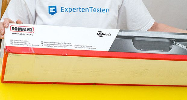 Sommer Garagentorantrieb S9080 Base+ im Test - Made in Germany