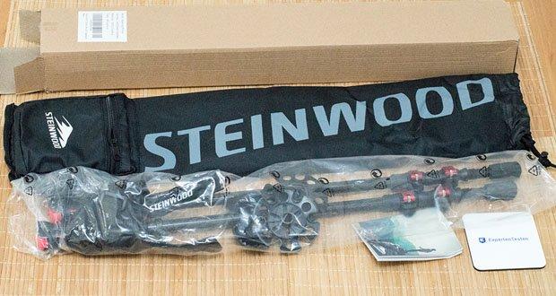 Die Walkingstöcke von Steinwood im Test - aus 100% hochmodularem Carbon absorbieren Stöße und beugen Sportverletzungen vor