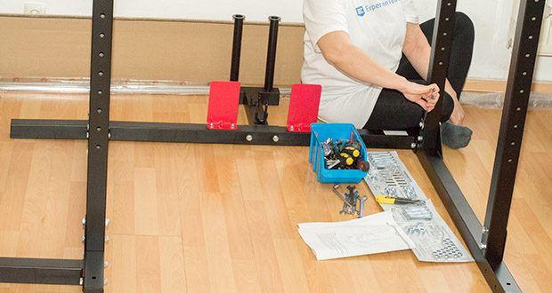 Wellactive Power Rack Kraftstation im Test - einfacher Einbau