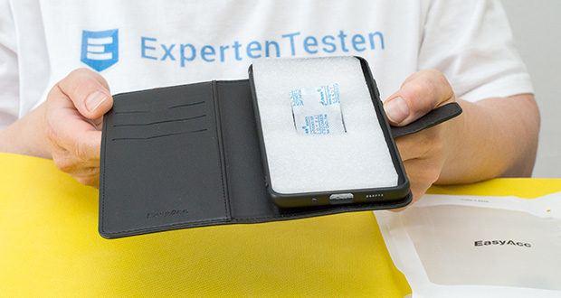 EasyAcc Hülle für Samsung Galaxy S20 Plus im Test - magnetische Frontklappe