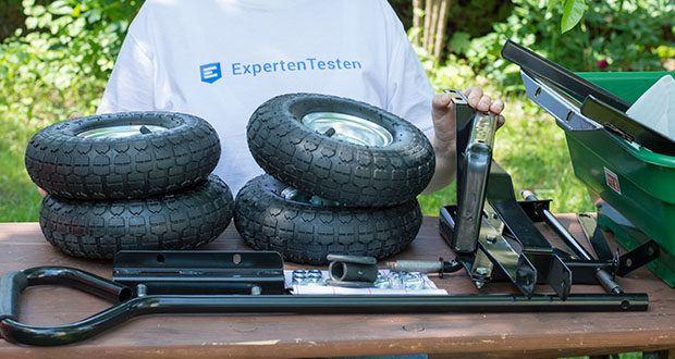 Izzy Sport Bollerwagen im Test - robustes und belastbares Metallgestell