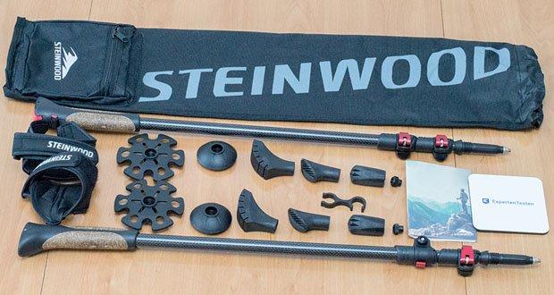 Steinwood Nordic Walking Stöcke im Test - Umfangreiches Zubehör