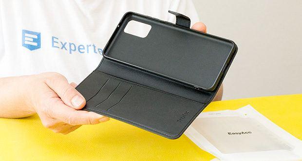 EasyAcc Hülle für Samsung Galaxy S20 Plus im Test - der innere TPU-Case passt bequem zu Ihrem Handy und ermöglicht eine einfache Installation