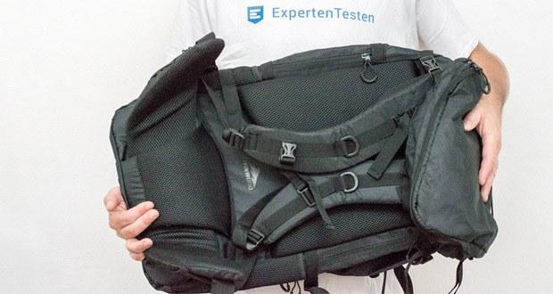 Steinwood Trekkingrucksack 70L im Test - verstellen Sie im Handumdrehen die Höhe oder Schulterlänge, und passen Sie den Trekkingrucksack perfekt Ihrer Größe an