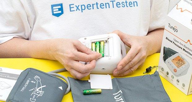 Turejo Oberarm Blutdruckmessgerät im Test - inklusive 3x AAA Batterien