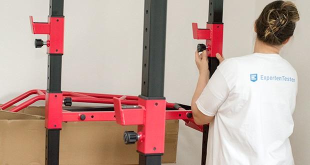 Wellactive Power Rack Kraftstation im Test - inkl. Dip-Ständer; max. Benutzergewicht: ca. 100 kg