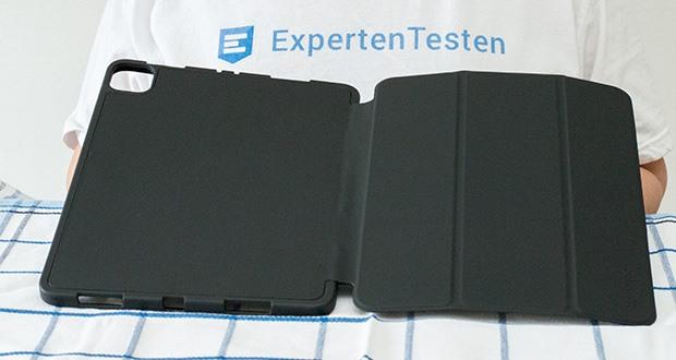 EasyAcc Hülle für iPad Pro 11 im Test - die widerstandsfähige TPU Rückschale schützt Ihr iPad vor Stößen und Schmutz