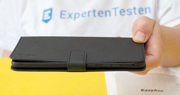 EasyAcc Hülle für Samsung Galaxy S20 Plus im Test - es ist viel schlanker als herkömmliche Cases und bietet genauso viel Schutz