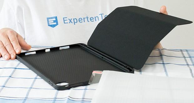 EasyAcc Hülle für iPad Pro 11 im Test - das samtartige Innenfutter aus Mikrofaser bietet einzigartigen Komfort und zusätzlichen Schutz vor Kratzern und Verschmutzungen