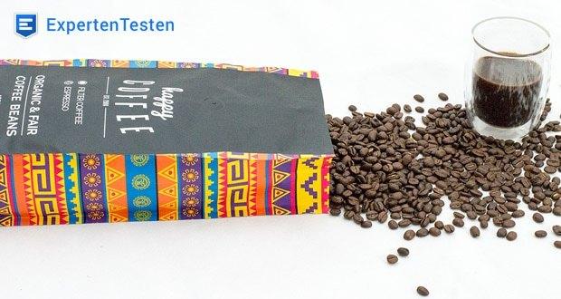 Happy Coffee CHIAPAS Bio Espressobohnen - aus fairem Direkthandel