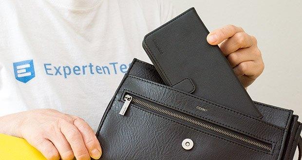 EasyAcc Hülle für Samsung Galaxy S20 Plus im Test - flexibles TPU Material und Maßarbeit machen das Case wirklich einfach zu installieren und zu entfernen