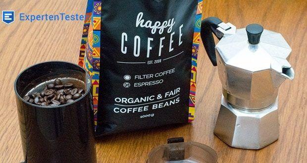 Happy Coffee CHIAPAS Bio Espressobohnen geeignet für Kaffevollautomaten, Espressomaschinen und Siebträger