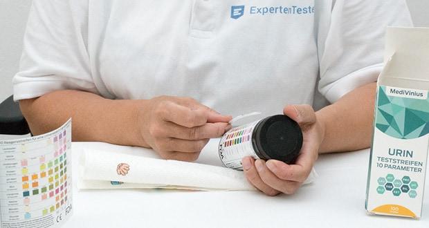 Urin Teststreifen von MediVinius - Ergebnisse in Minutenschnelle