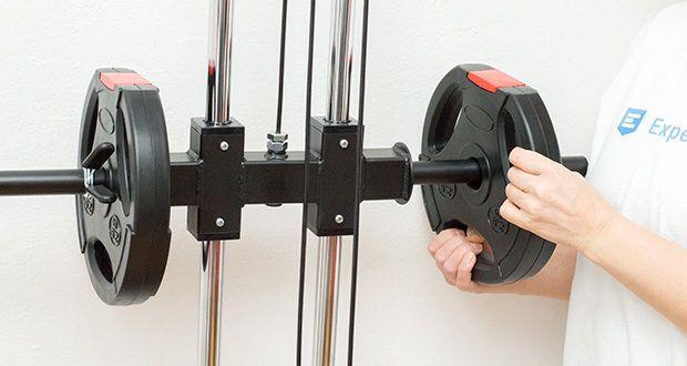 Wellactive Power Rack Kraftstation im Test - kombinierbar mit vielen anderen Fitnessprodukten von Wellactive