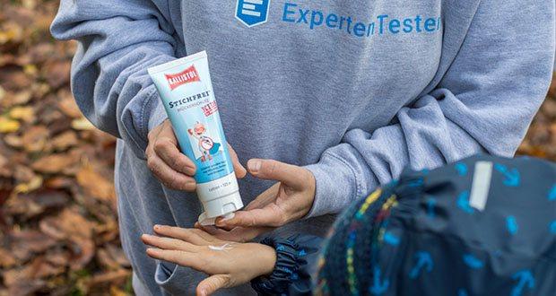 BALLISTOL Stichfrei Mücken-Zeckenschutz Kids im Test - ist für Kinder ab 2 Monaten geeignet erfüllt die Anforderungen an solche Insektenschutzmittel