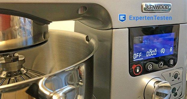 Kenwood Cooking Chef Gourmet KCC9060S Küchenmaschine im Test - auf Tastendruck können Sie aus 24 voreingestellten Programmen verschiedener Schwierigkeitsgrade von Vorspeisen bis Desserts Ihr Wunschrezept wählen