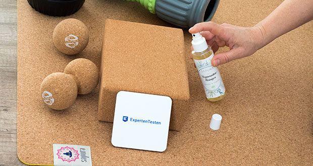 SAPURA Yogamatten Reiniger Bio im Test - hervorragend für TPE, Naturkautschuk und Korkmatten geeignet