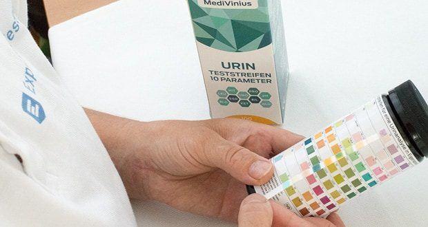 Urinteststreifenset von MediVinius - Für einen zuverlässigen Gesundheitstest für Männer, Frauen und auch Kinder für zu Hause