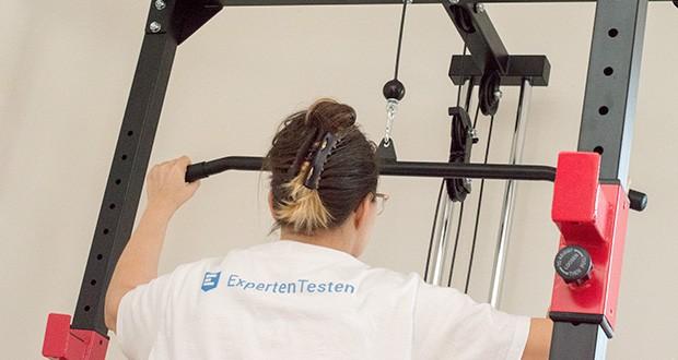 Wellactive Power Rack Kraftstation im Test - vielfältige Trainingsmöglichkeiten für alle Muskelgruppen (mit oder ohne zusätzliches Equipment)