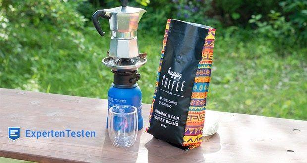 Happy Coffee Bio Espressobohnen - kleine Produktmengen für garantiert frischen Kaffee