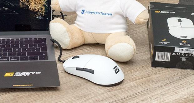 Endgame Gear XM1 Gaming Maus im Test - geräuschlose und reibungsarme PTFE-Glides für maximale Präzision