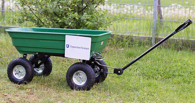 Izzy Sport Bollerwagen im Test - der praktische Gartenwagen mit Kippfunktion