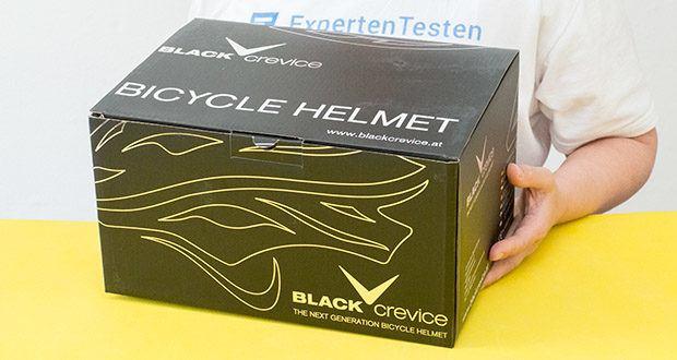 Blackcrevice Fahrrad- & Mountainbike Helm im Test - Gewicht: 250 Gramm; Größe: M (54-58 cm)