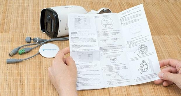 Annke CCTV Überwachungskamera BR200 im Test - hat die strengsten Tests von UL (Underwriters Laboratories) bestanden, so dass jede einzelne Komponente der Kamera alle Sicherheitsnormen erfüllt und nahtlos funktioniert