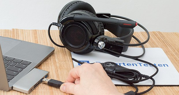 EasyAcc G1 Gaming Headset im Test - volle Kompatibilität (Plug&Play)