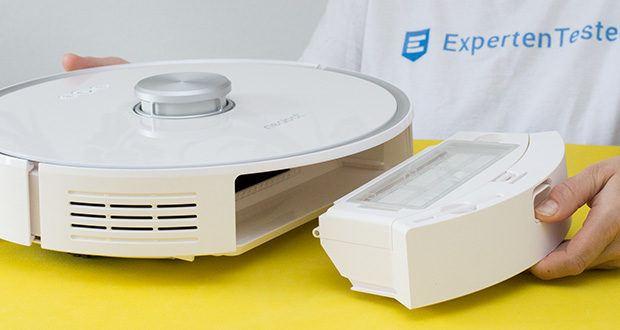Neabot NoMo Staubsaugerroboter im Test - mit 3-stufigem Reinigungssystem (Small, Regular und Strong)