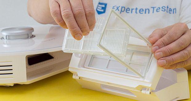 Neabot NoMo Staubsaugerroboter im Test - mit waschbarem HEPA-Filter