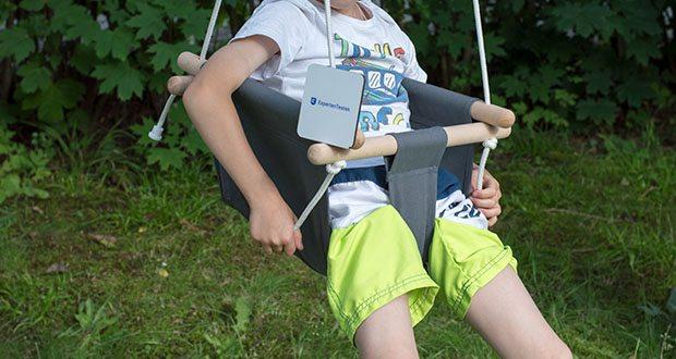 small-foot Babyschaukel Komfort im Test - Einstiegsalter: ab 18 Monate