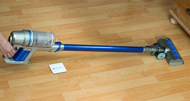 CLEANmaxx Akku-Handstaubsauger Sensitive im Test - ist kabellos wie ein Akkusauger, flexibel wie ein Handstaubsauger, praktisch wie ein Bodenstaubsauger