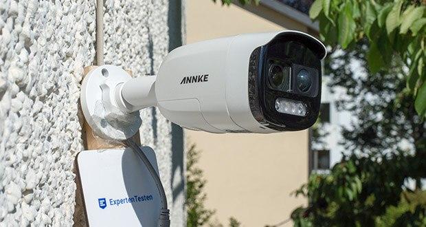 Annke CCTV Ãœberwachungskamera BR200 im Test - Nachtsicht Reichweite: bis zu 40 m