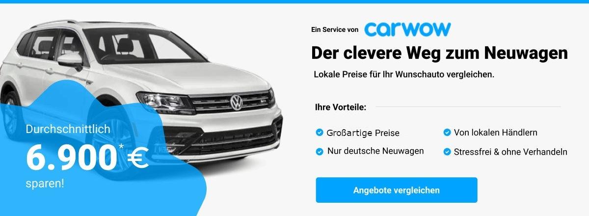 Günstige carwow SUV Angebote erhalten