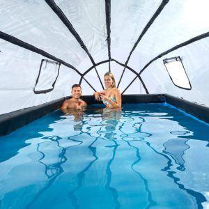 Worauf muss ich beim Kauf eines Pool mit Dach Testsiegers achten?
