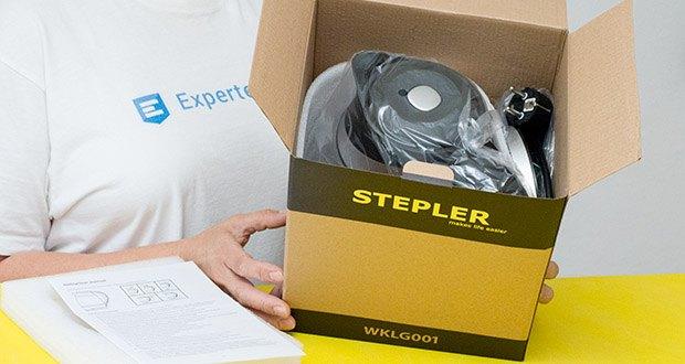 STEPLER LED-Glas-Wasserkocher 1,8 Liter im Test - Leistung: 1850W-2200W