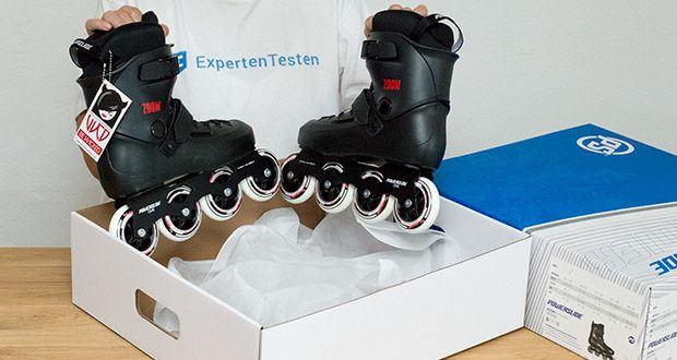 Powerslide Inlineskates Zoom Black 80 im Test - Gewicht (Ein Skate - Ohne Bremse): 1450g